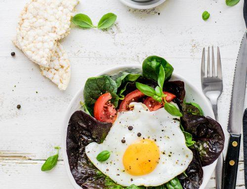 Hälsosam helg frukost brunch